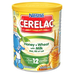 Nestlé Cerelac Honey & Wheat with Milk 400g