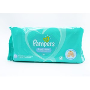 Pampers Baby Wipes Scented 52stk