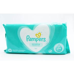 Pampers Baby Wipes Sensitive 52stk