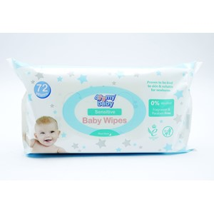 For My Baby Wipes Sensitive 72stk