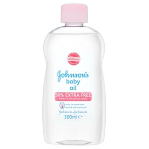 Johnson`s Baby Oil 300ml