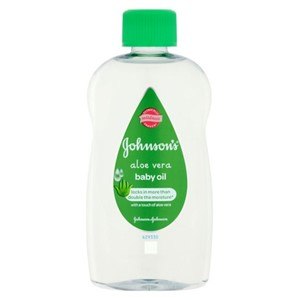 Johnson's Baby Oil Aloe Vera Twin Pack 300ml