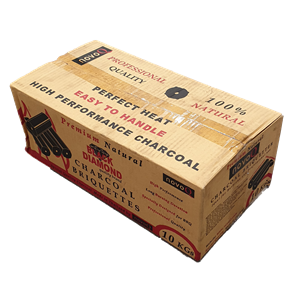 Black Diamond Charcoal Briquettes LOG 15cm 10kg