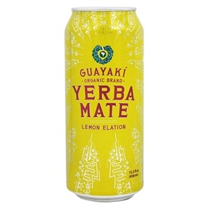 Guayaki Lemon Elation Yerba Mate boks 458ml