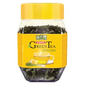 Tapal Green Tea Lemon Grass 100g Jar