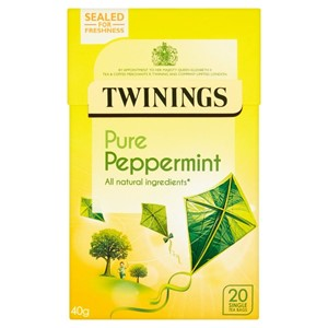 Twinings Pure Peppermint 20 Bags