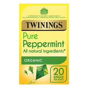 Twinings Pure Peppermint Organic 20 Bags
