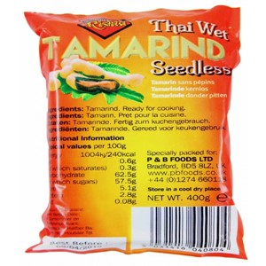 Rishta Tamarind Seedless Wet 400g