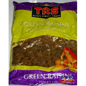 TRS Green Raisins 750g