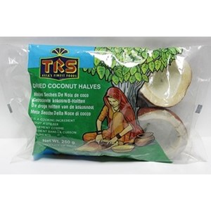 TRS Dried Coconut Halves 250g