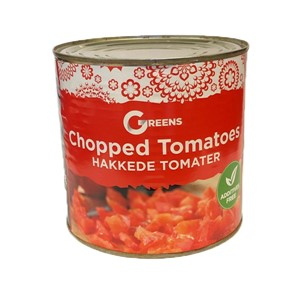 Greens Chopped Tomatoes 2,5kg