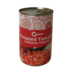 Greens Chopped Tomatoes 400g