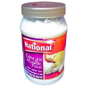 National Ginger & Garlic Paste 300g