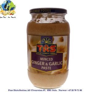 TRS Minced Ginger & Garlic Paste 1kg