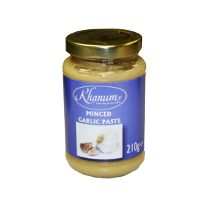 Khanum Minced Garlic Paste 210g
