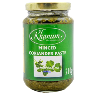 Khanum Minced Coriander Paste 210g