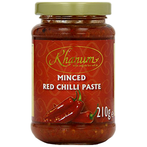 Khanum Minced Red Chilli Paste 210g