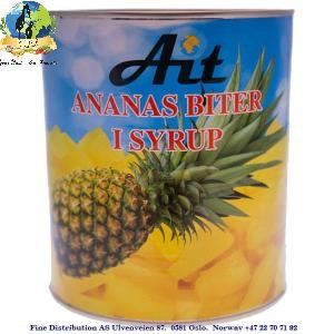 AIT Pineapple Fruit in Syrup 3kg