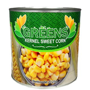 Greens Sweet Corn Box 2125g