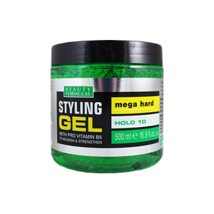 Beauty Formulas Mega Hold Styling Gel 500ml