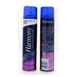 Harmony Hair Spray Extra Firm Ex/Fill 300ml