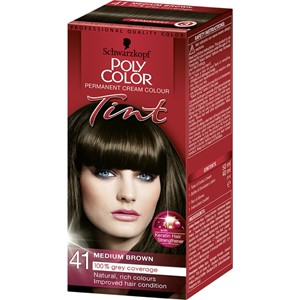 Poly Hair Color 41 Medium Brown