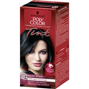 Poly Hair Color Tint 49 Raven Black