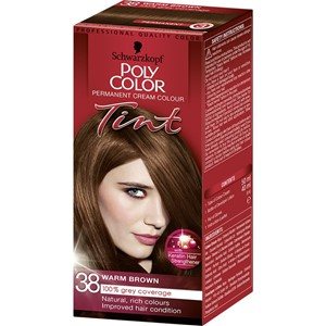 Poly Hair Color Tint 38 Warm Brown