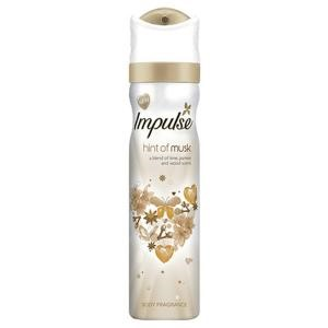 Impulse Ladies Body Spray Musk 75ml
