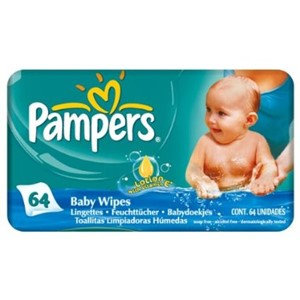 Pampers Wipes Complete Clean 64stk