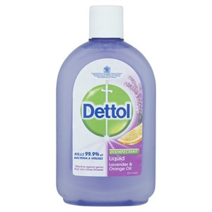 Dettol Liquid Lavender Orange 500ml