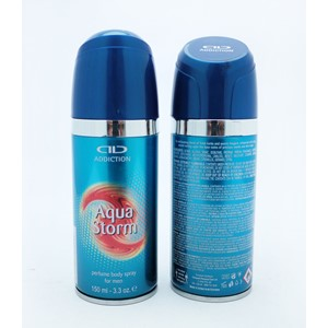 Addiction Body Spray Aqua Storm 150ml