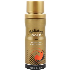 Addiction Body Spray Gold 150ml