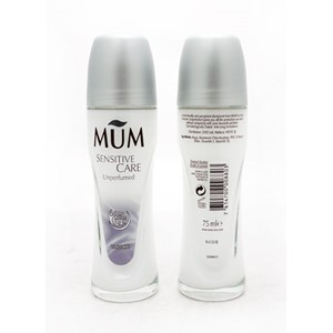 Mum Roll On Unperfumed 75ml