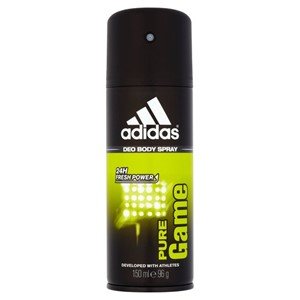 Adidas Body Spray Pure Game 150ml 24h