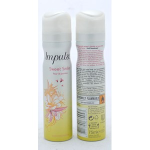 Impulse Body Spray Sweet Smile 75ml