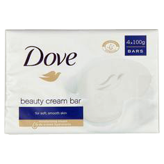Dove Soap Beauty 4stk 100g