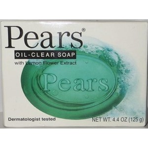 Pears Soap Bar Transparent Green 125g