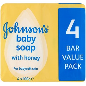 Johnson's Baby Soap with Honey 4stk