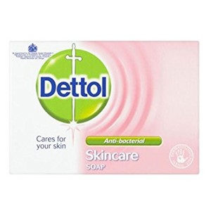 Dettol Soap Skin Care 100g x 6