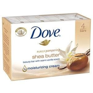 Dove Soap Shea Butter 4stk 100g