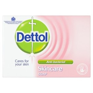 Dettol Soap Skin Care 100g 3pk