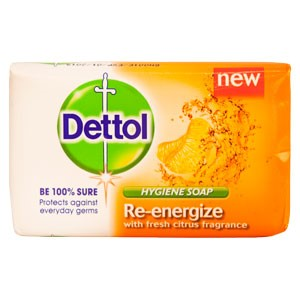 Dettol Soap Re-energize 100g 3pk