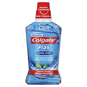 Colgate 500ml MW Plax Blue Cool Mint