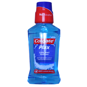 Colgate 250ml MW Plax Blue Cool Mint