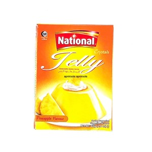 National Jelly Crystal Pineapple 80g