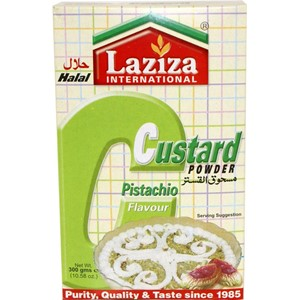 Laziza Custard Powder Pistachio 300g