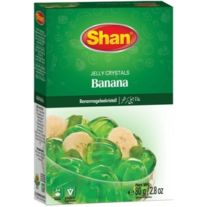 Shan Jelly Crystals Banana 80g