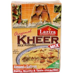 Laziza Kheer Mix Rice Almond & Saffron 155g