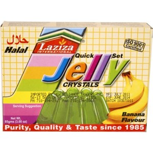 Laziza Banana Jelly Powder 85g